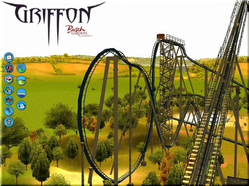 Griffon - Busch Gardens by Zioni is a track for Roller Coaster ...