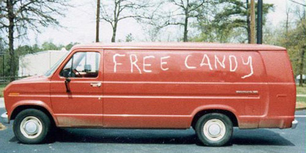 200892123934 free candy van 763098